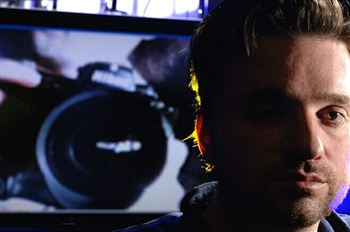 03 Rob Spence with camera in background