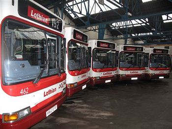Lothian Buses For Auction
