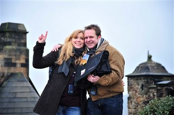 Britta Springstrow and Rene Woffeh from Germany