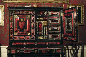 King Charles II Cabinet