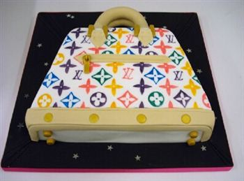 The cake that attracted Louis Vuitton's attention