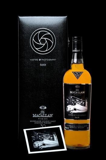 Macallan Whisky Bottle - Rankin