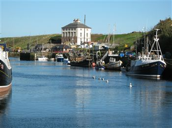Gunsgreen House in Eyemouth, where the romance is thought to have bloomed.