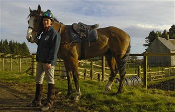 Rosanagh and her horse Summer Soul