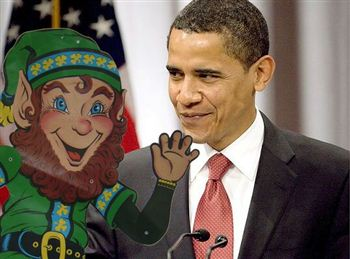 Patrick on his magical trip with Obama