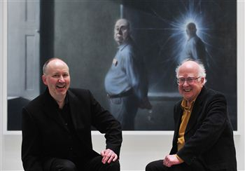 Peter Higgs portrait