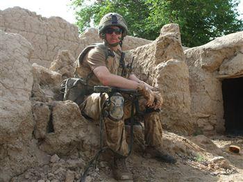 Iain Macdonald in Afghanistan