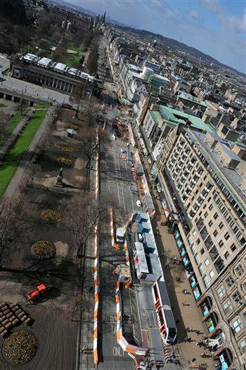 Edinburgh Tram Works