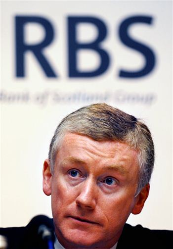 Fred Goodwin pictured at an RBS AGM in 2007