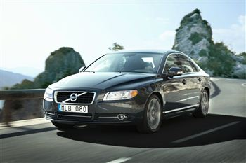 The Volvo S80 - a popular choice for councils across Scotland