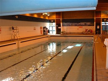 Forres pool drained