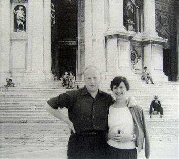 John Houston & Elizabeth Blackadder (1950's)