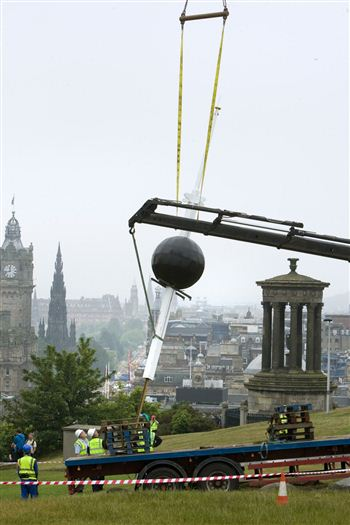 01 time ball calton hill