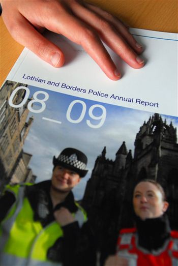 Lothian and Borders police report 2008-09