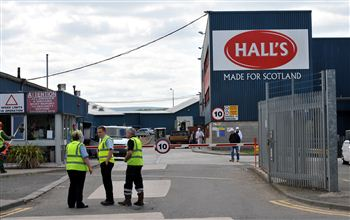 Hall's Meat factory