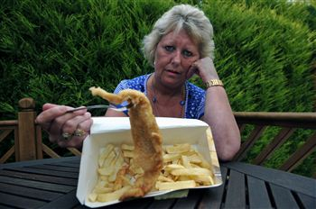 Fish and Chips allergic Reaction