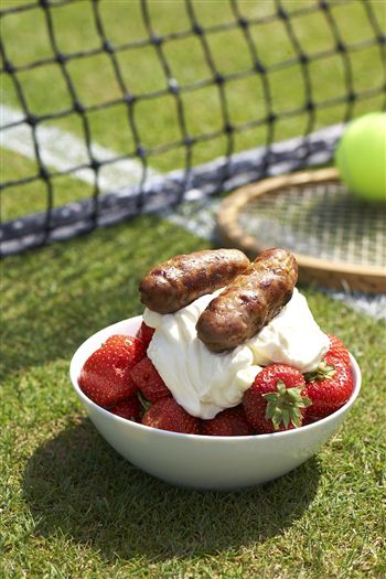 The tennis inspired sizzlers