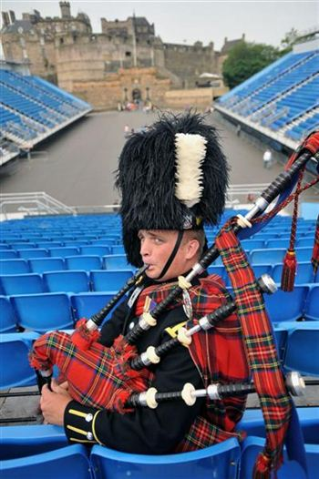 member is penning a new song for this year's Edinburgh Military Tattoo.