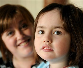 Millie Mackenzie and mum Kelly