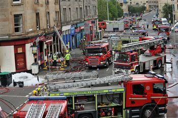 Fire Fighter Death Balmoral pub