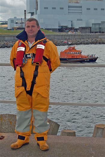 Coxswain Gary Fairbairn - RNLI Dunbar