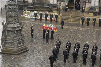 Ewan Williamson funeral