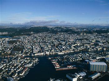 Haugesund Ariel View