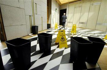 Holyrood Flooded Corridor