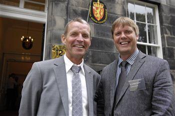 Dr Kjell Gunnar Gunderson & Dr Jon Wegner Hausken