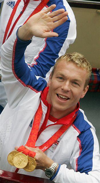02 Chris Hoy Olympians Parade