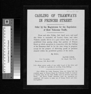 1897 tramworks poster