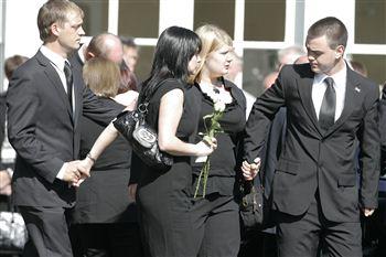 Daniel Steedman Funeral