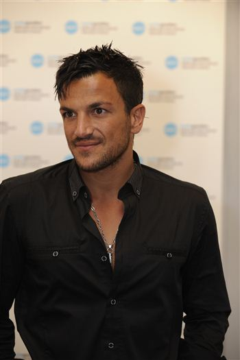 Peter Andre at the MediaGuardian TV Festival