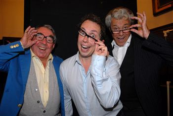 Ronnie Corbett,Lionel Blair and Eric Morecambe