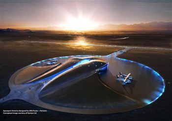 Virgin Spaceport at Mull of Kintyre