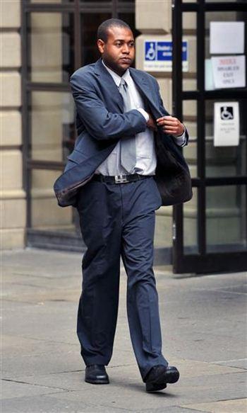 David Muchemwa leaving court
