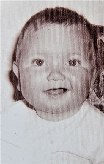 Stephen as a wee boy