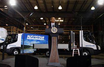 Obama - Navistar - Modec 05.08.09