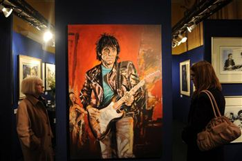 01 Ronnie Wood self portrait
