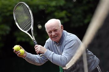 John Duncan who smashed his own record when he won a tournament aged 76