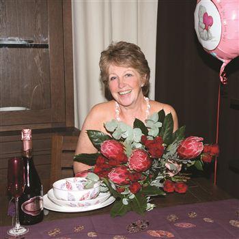 Dorothy Dyre, 55 from Bruntsfield in Edinburgh