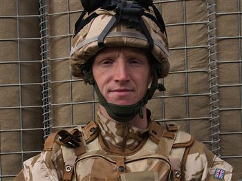 Corporal Thomas Mason - Pic courtesy of the MoD