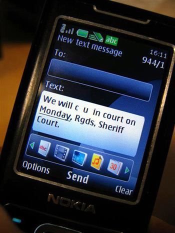 Text from court