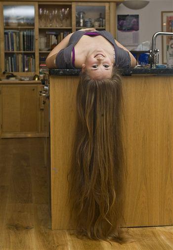 Francesca Dawson big hair