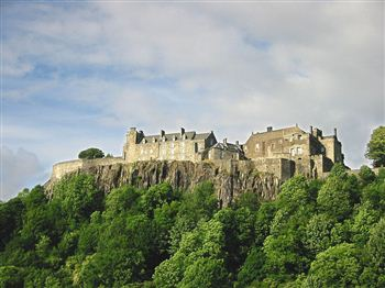 Stirling Castle played host to the Great Tapestry of Scotland