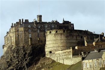 A view of Edinburgh Castle, one of many ancient buildings managed by Historic Scotland