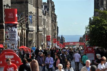 Hundreds of thousands of people descended upon Edinburgh for the festival