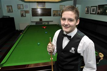 Scottish amateur player Micheal Leslie scored his 147 in just seven minutes
