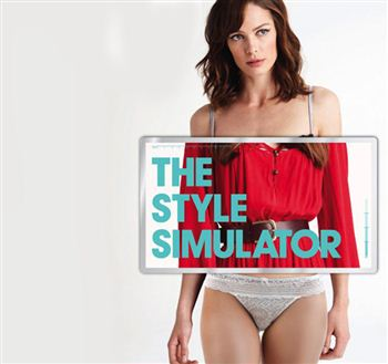 The shopping centre will be hosting a Style Simulator - a 3D body scanner records a person's measurements and gives them a list of their perfect sizes in different retailers.