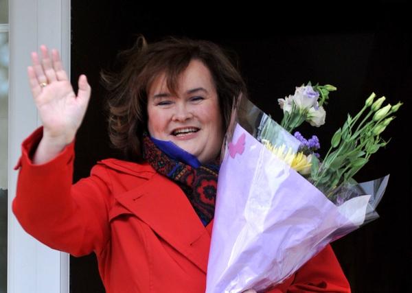 Susan Boyle 50th